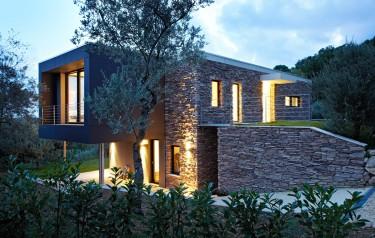 Schwarzwälder Architektur Toskana